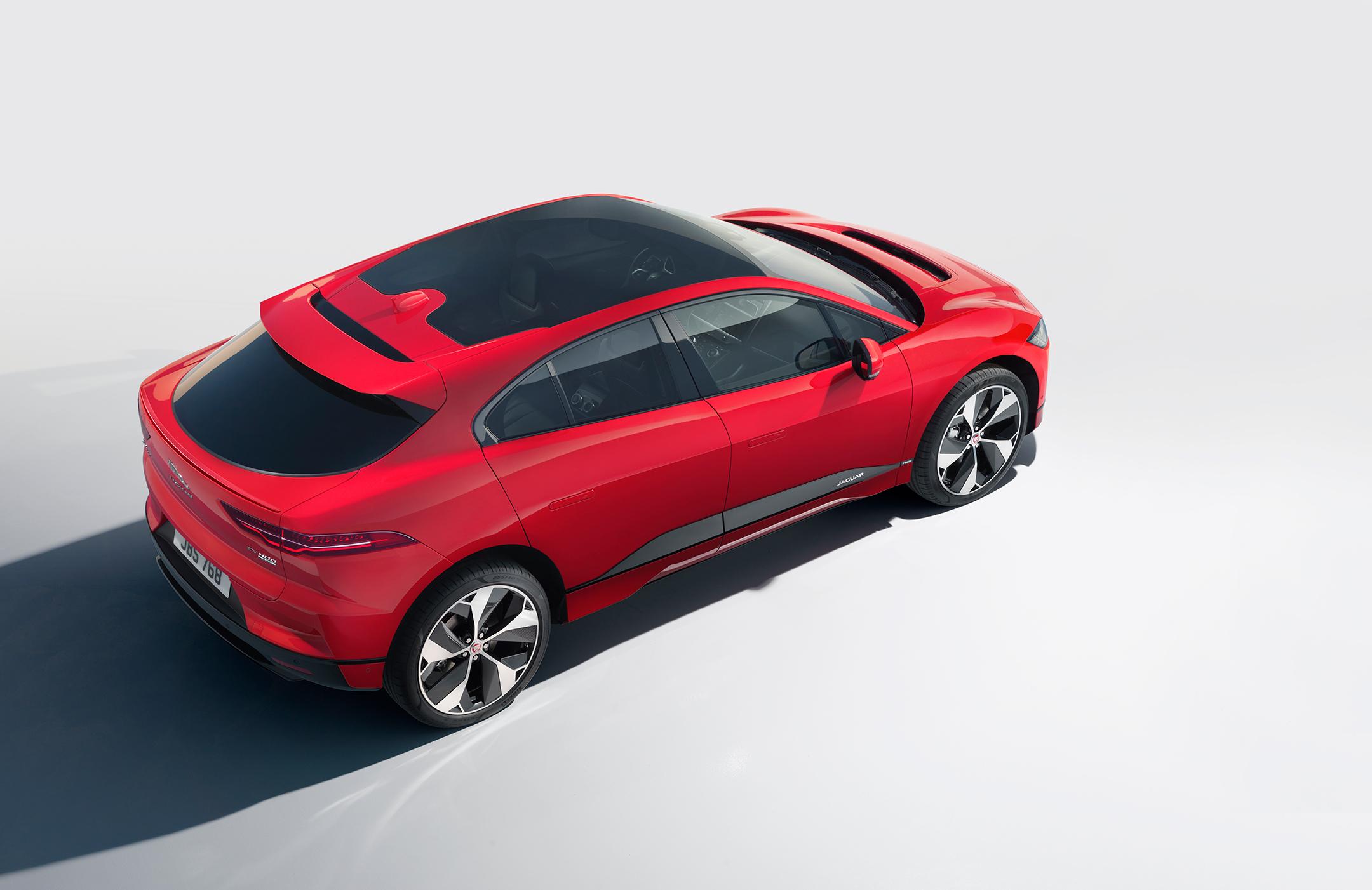 Jaguar I-PACE - 2018 - rear side-face / profil arrière