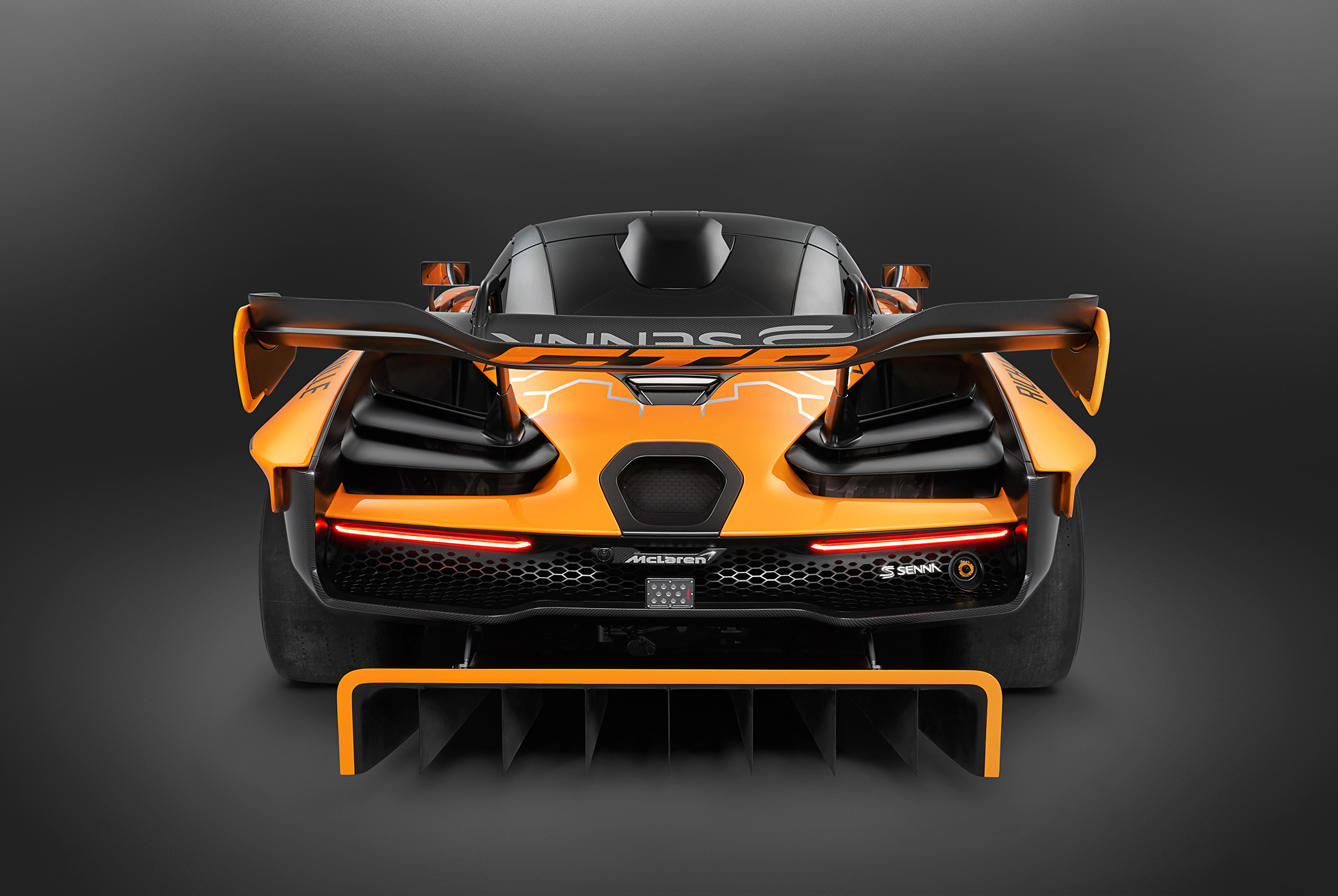 McLaren Senna GTR - 2018 - top rear