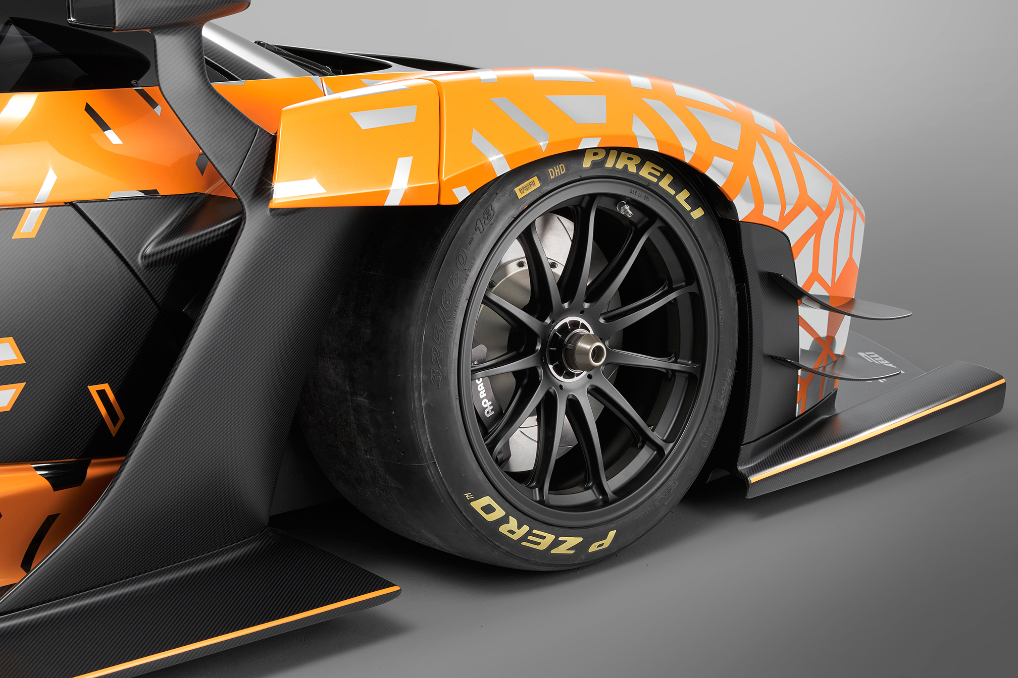 McLaren Senna GTR - 2018 - front side view