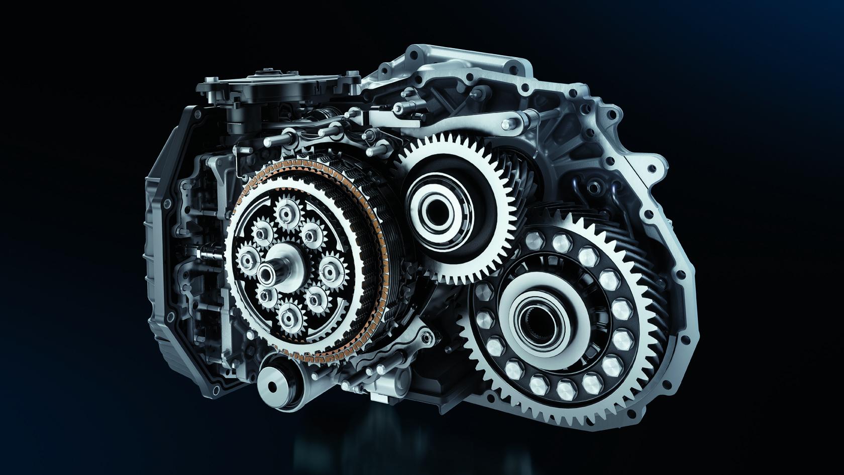 Peugeot - 2018 - gearbox - EAT8 - Efficient Automatic Transmission 8 - mechanical