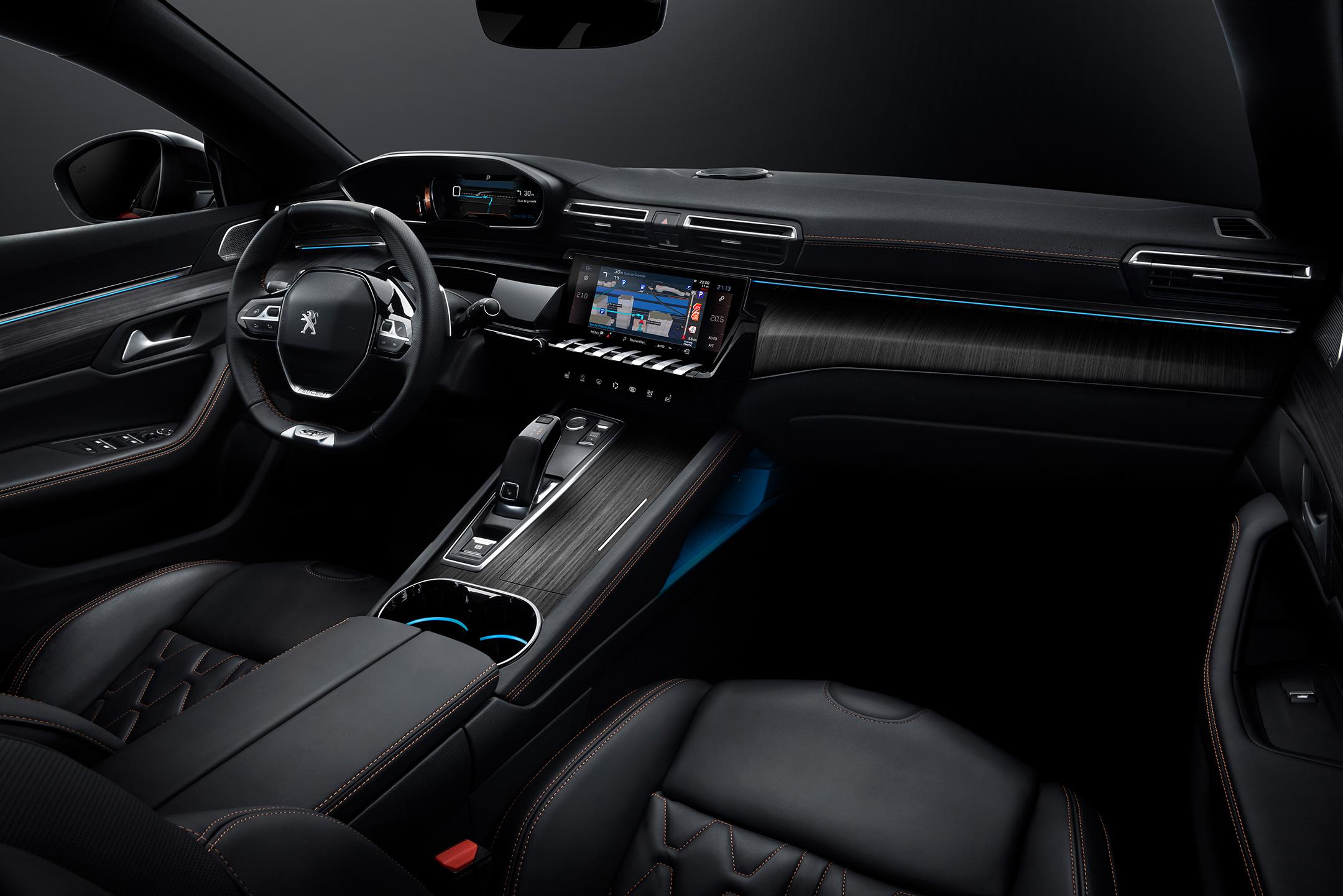 Peugeot 508 GT - 2018 - interior / intérieur