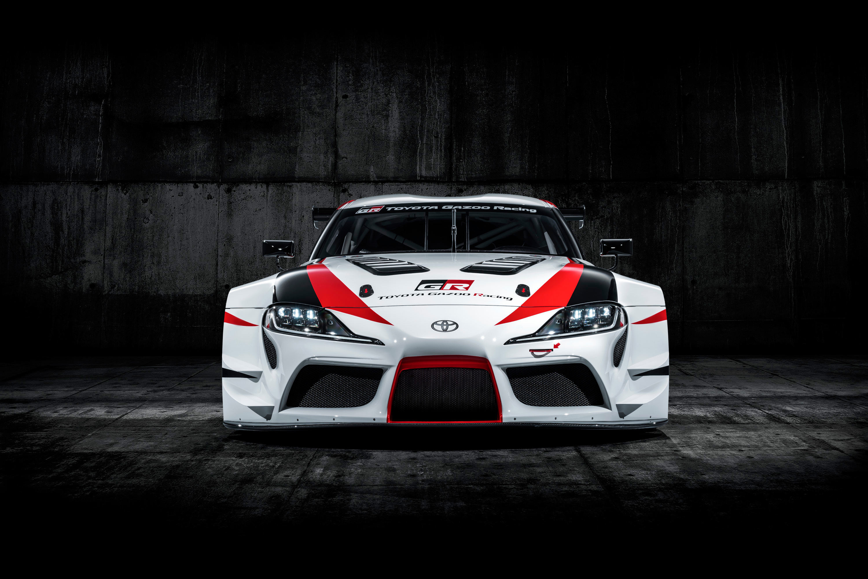 Toyota GR Supra Racing Concept - 2018 - front-face / face avant