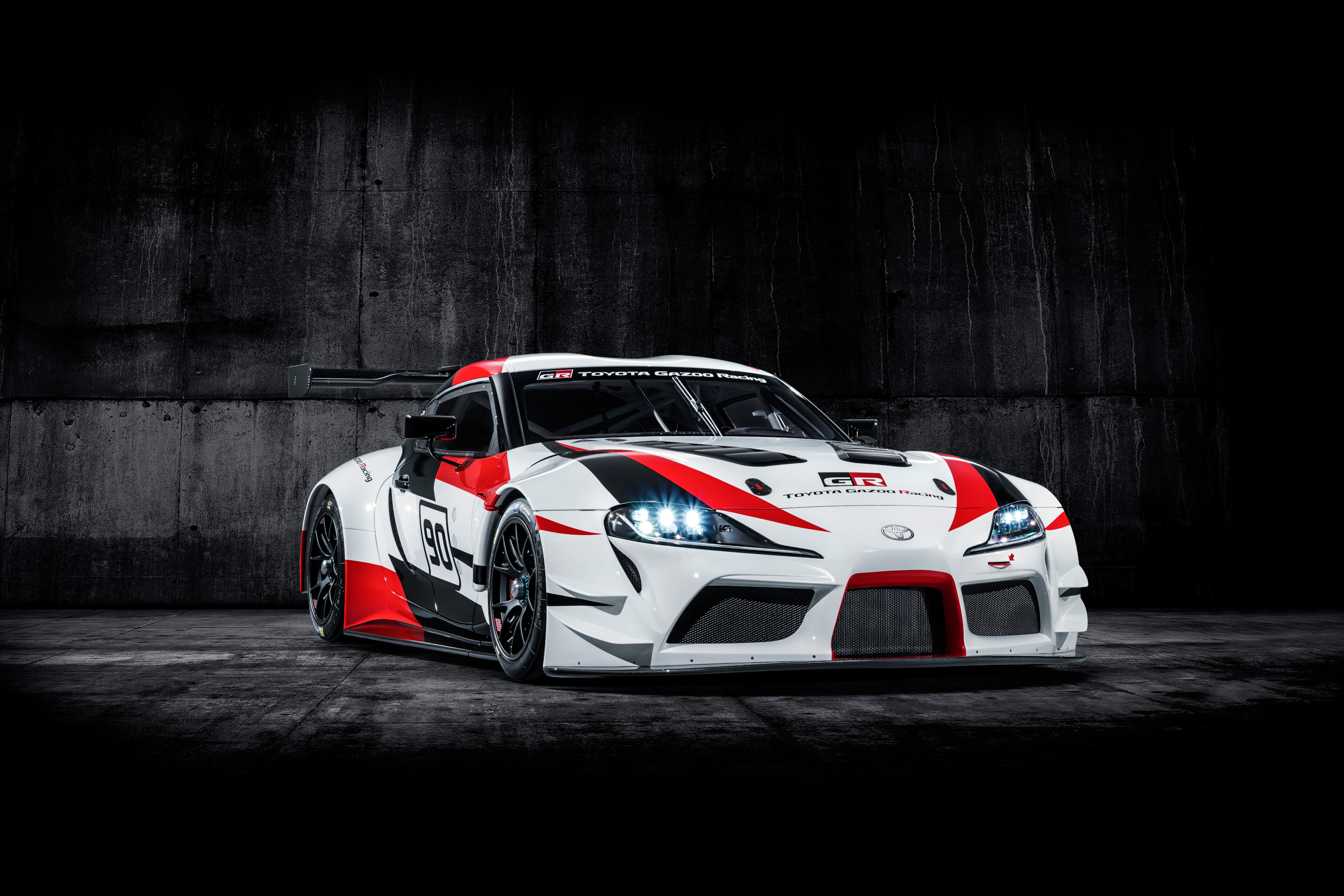 Toyota GR Supra Racing Concept - 2018 - front side-face / profil avant