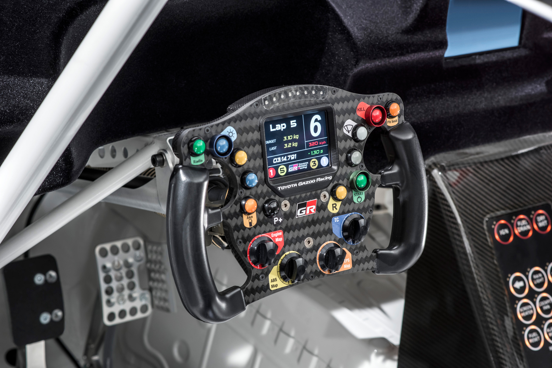 Toyota GR Supra Racing Concept - 2018 - racing wheel