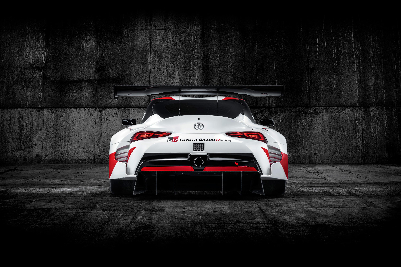 Toyota GR Supra Racing Concept - 2018 - rear face / face arrière
