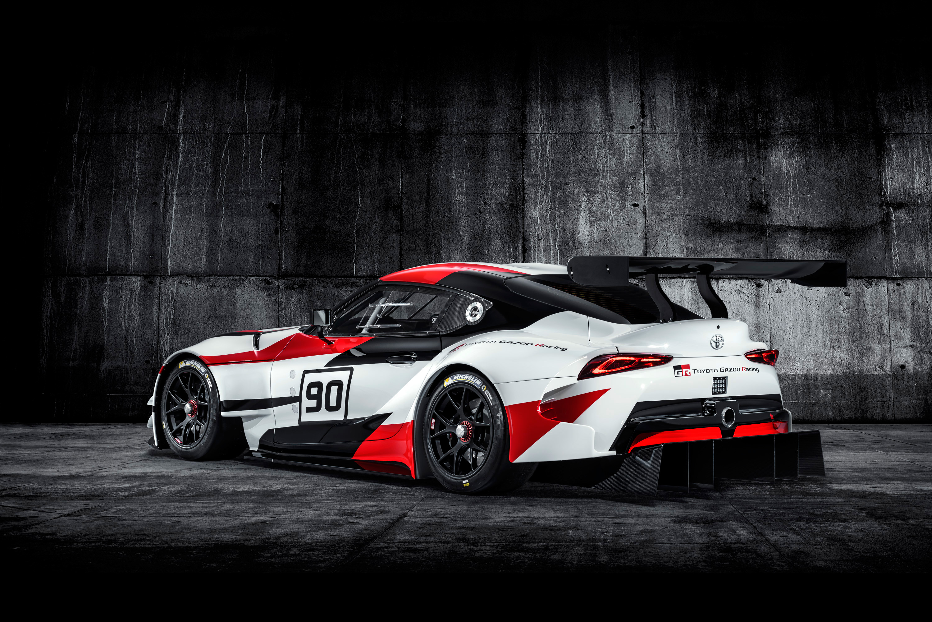 Toyota GR Supra Racing Concept - 2018 - rear side-face / profil arrière