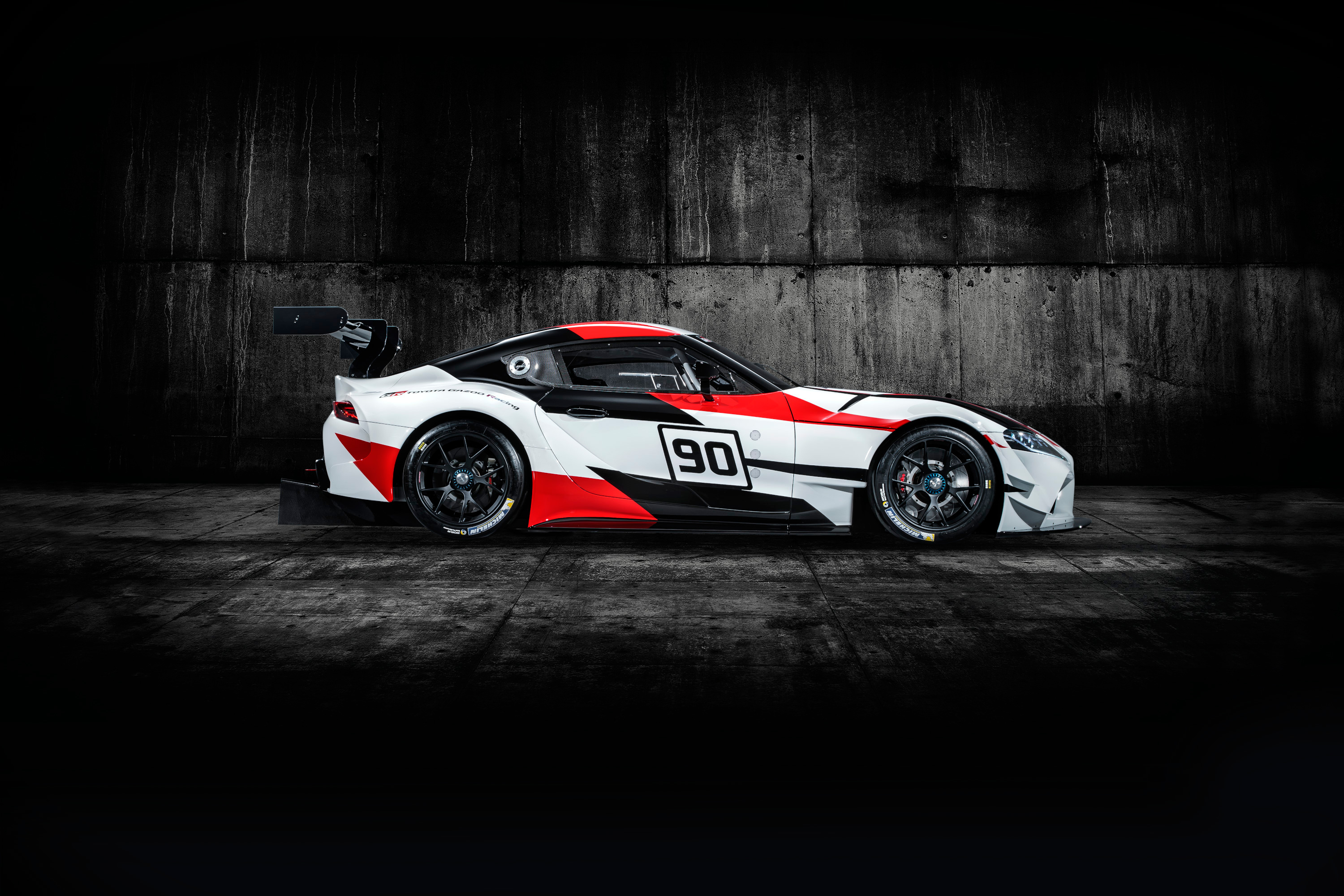 Toyota GR Supra Racing Concept - 2018 - side-face / profil