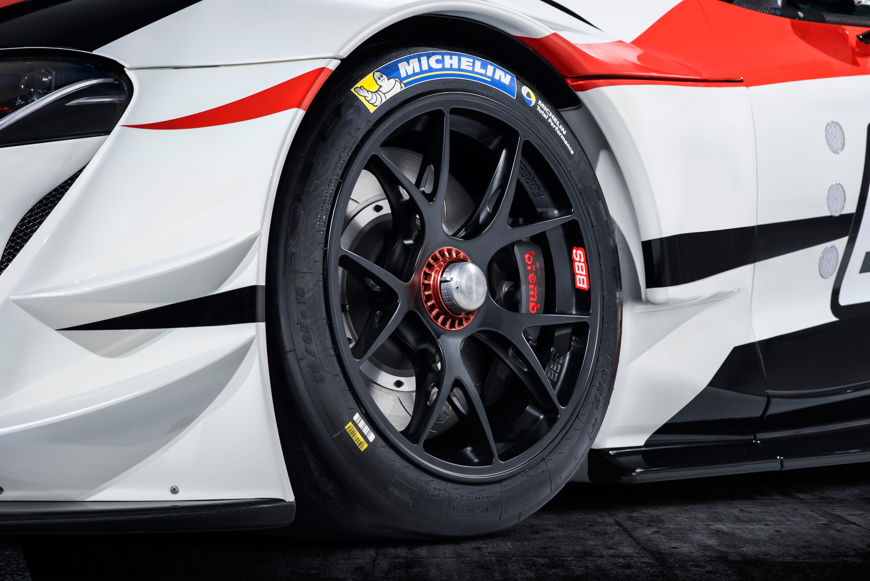 Toyota GR Supra Racing Concept - 2018 - wheel