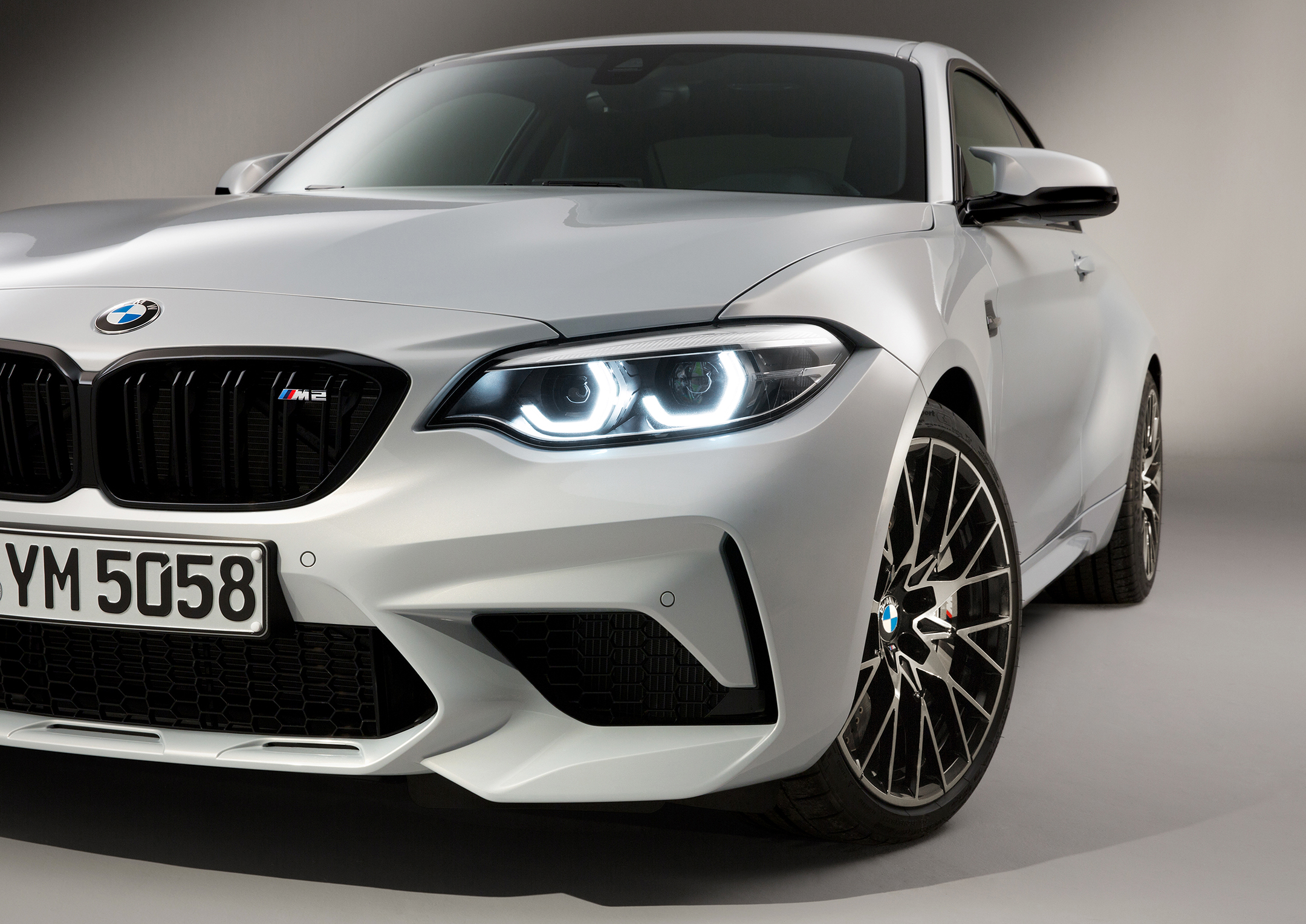 BMW M2 Competition - 2018 - front light