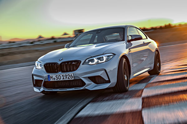 BMW M2 Competition - 2018 - front track