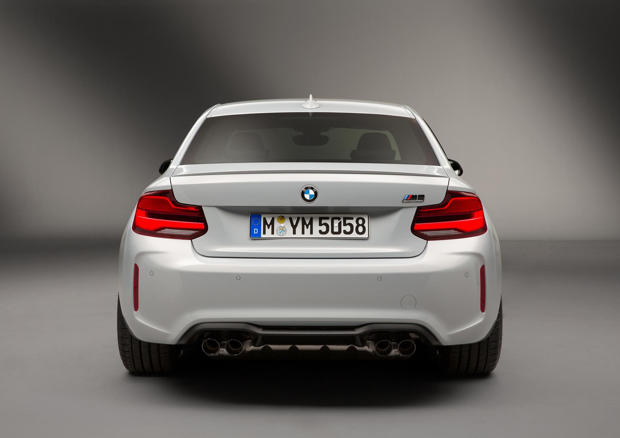 BMW M2 Competition - 2018 - rear face / face arrière