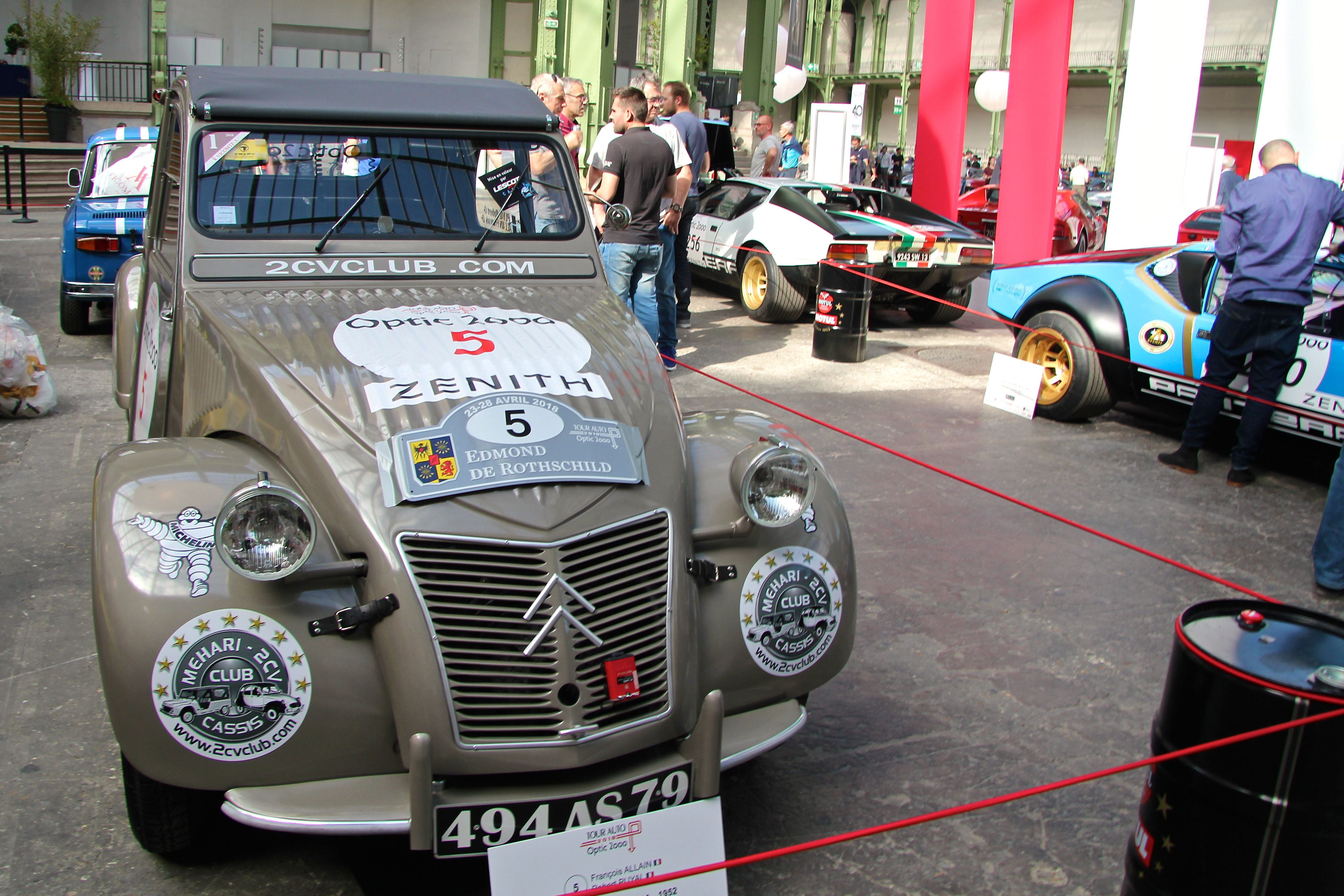 Citroën 2CV TypeA 1952 - Tour Auto - 2018 - photo Ludo Ferrari
