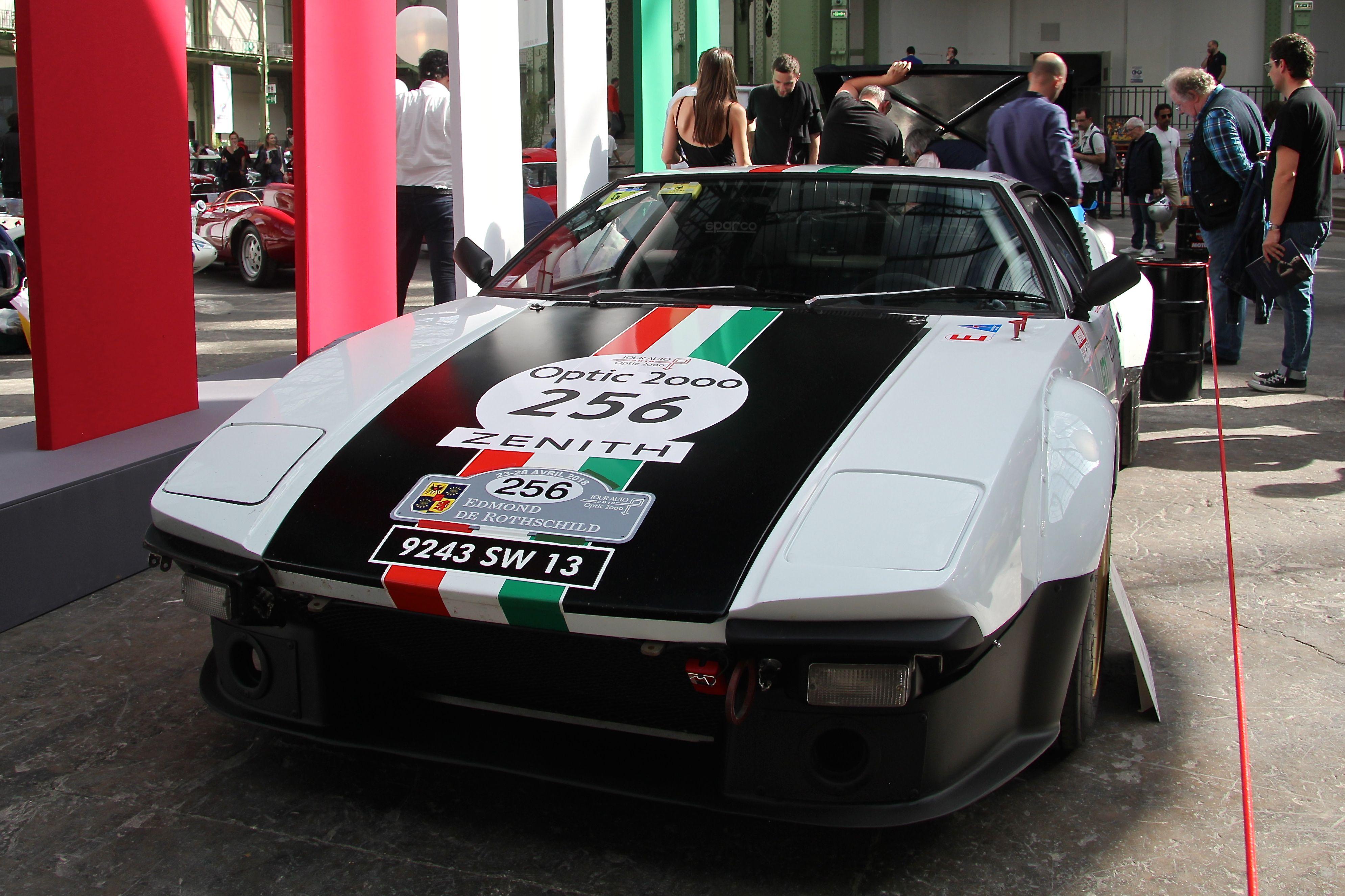 De Tomaso Pantera GrIV 1972 - Tour Auto - 2018 - photo Ludo Ferrari