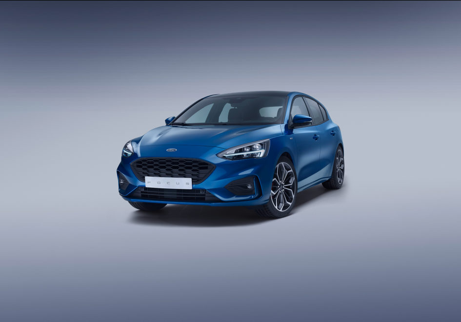 Ford Focus ST-Line - 2018 - front side-face / profil avant