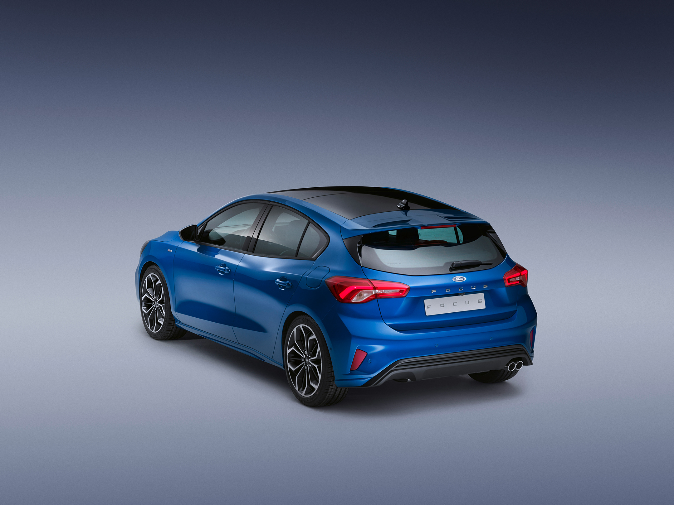 Ford Focus ST-Line - 2018 - rear side-face / profil arrière