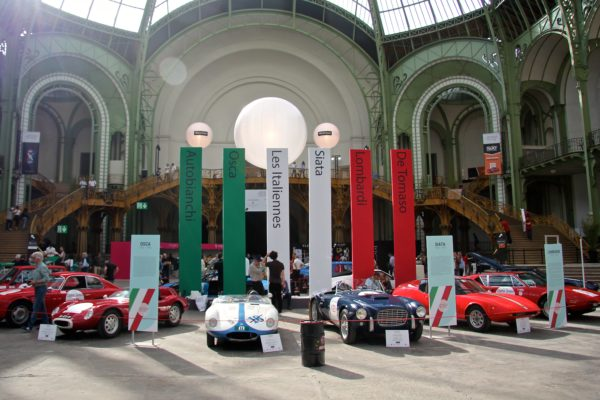 Automobile Italia heritage stand - Tour Auto - 2018 - photo Ludo Ferrari
