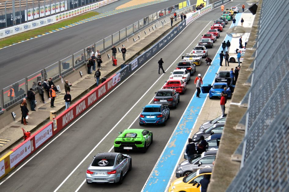 Pit lane circuit Bugatti - Le Mans - Exclusive Drive 2018 - photo Ludo Ferrari