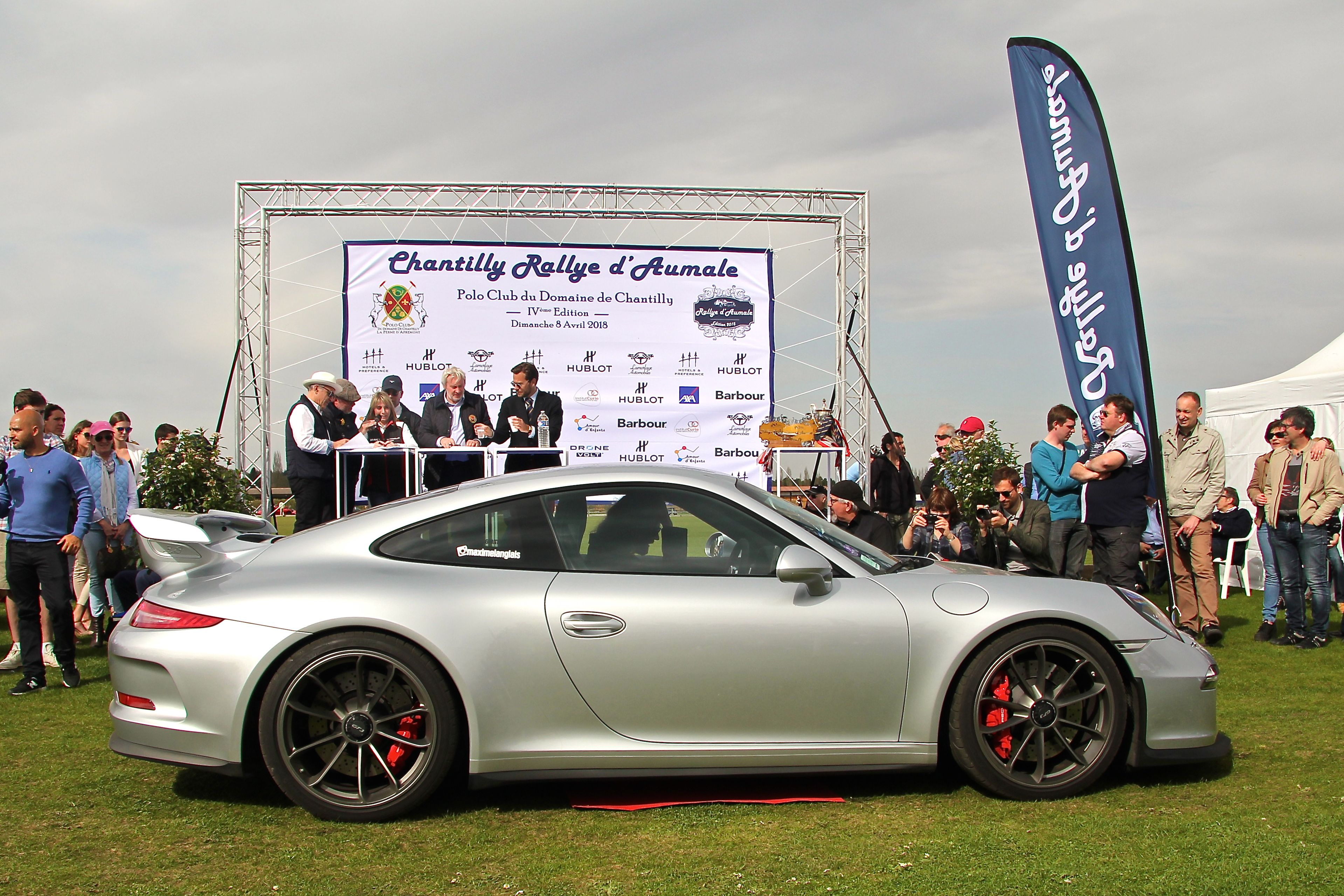 Porsche 991 GT3 - Concours d'Elégance - Rallye d'Aumale 2018 - photo Ludo Ferrari