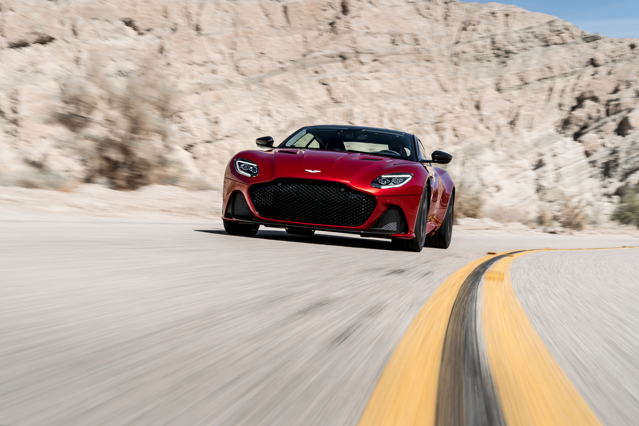 Aston Martin DBS Superleggera - 2018 - front road