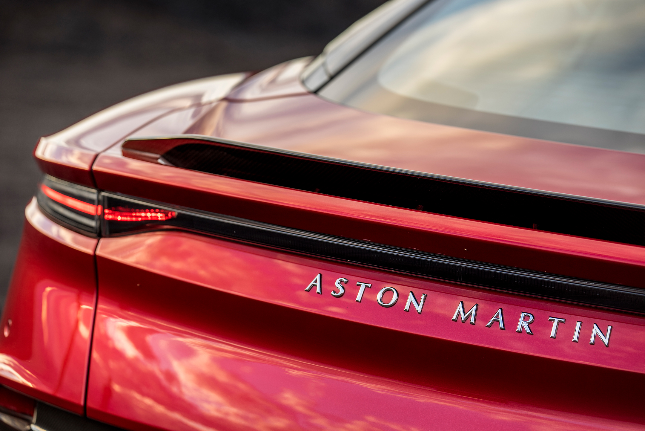 Aston Martin DBS Superleggera - 2018 - rear light