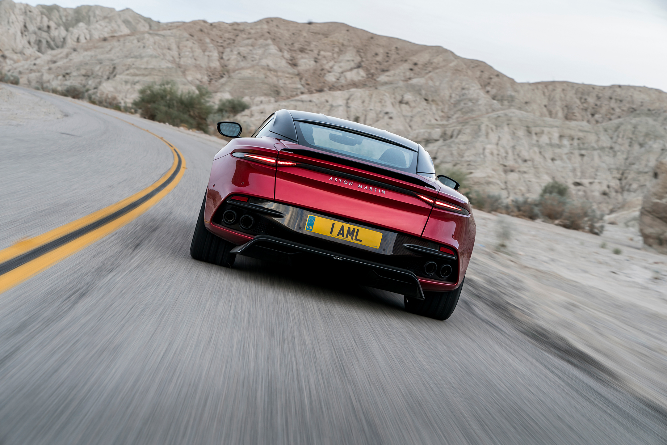 Aston Martin DBS Superleggera - 2018 - rear road