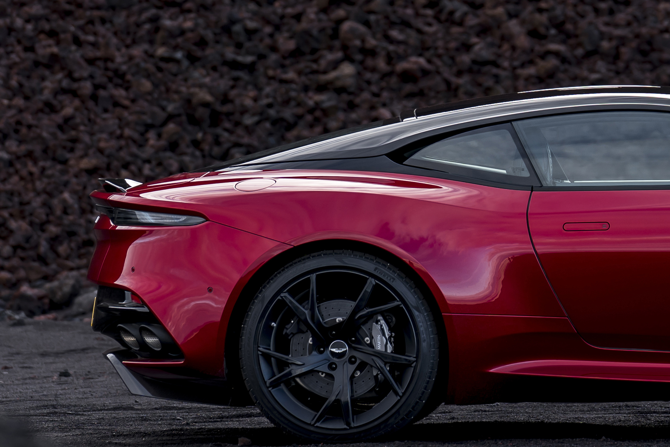 Aston Martin DBS Superleggera - 2018 - rear wheel
