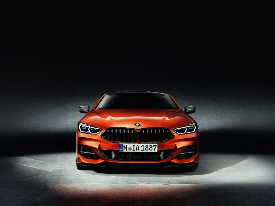 BMW 8 Series Coupe - 2018 - front face / face avant