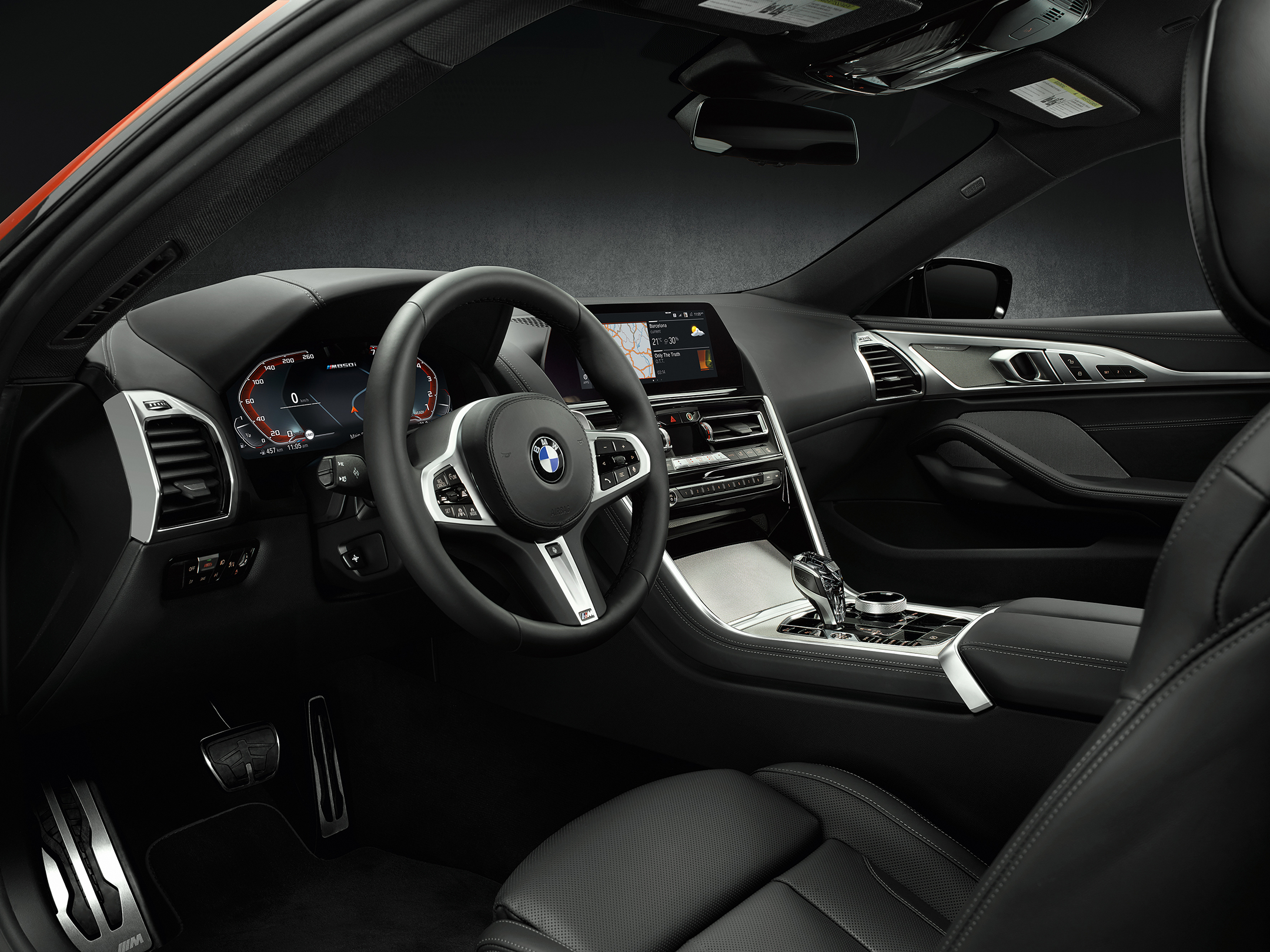 BMW 8 Series Coupe - 2018 - interior / intérieur