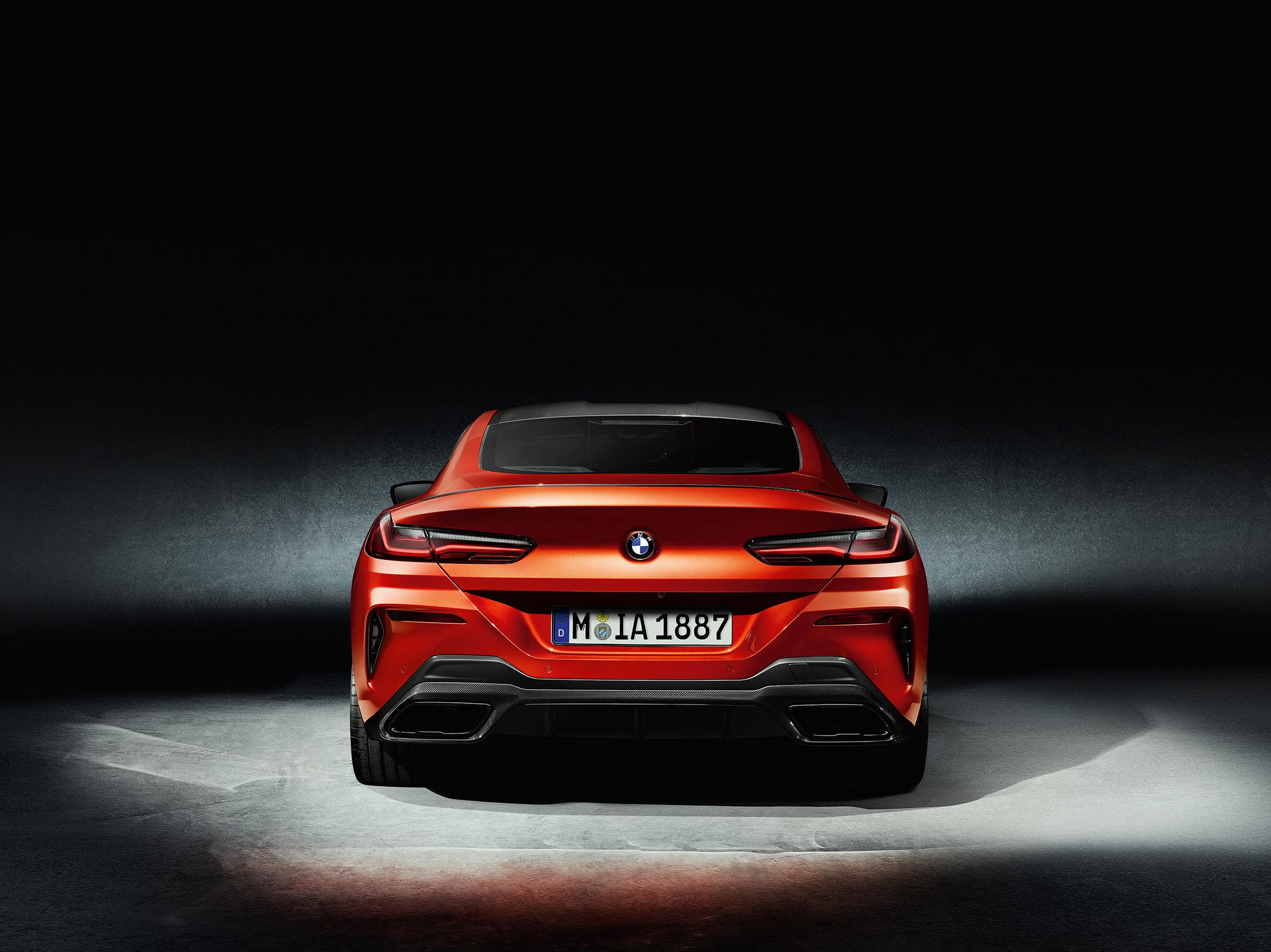 BMW 8 Series Coupe - 2018 - rear face / face arrière