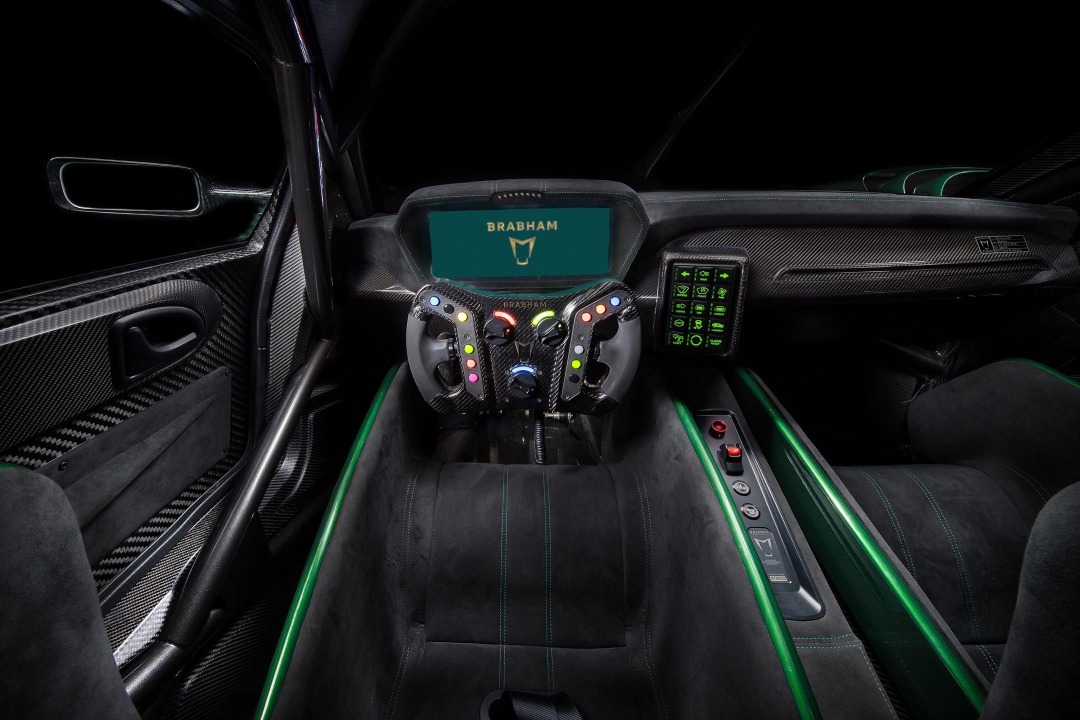 Brabham BT62 - 2018 - interior / intérieur