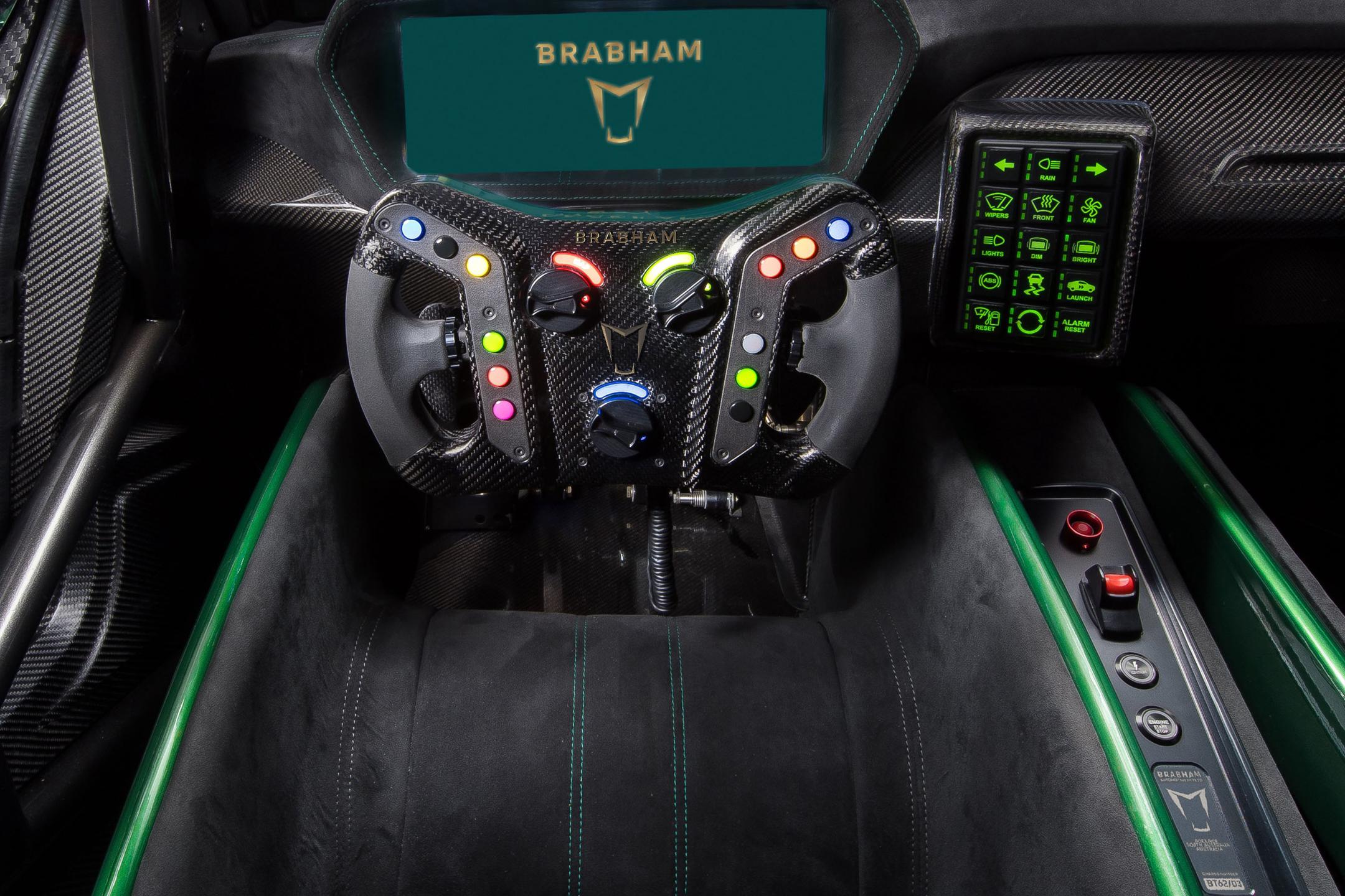 Brabham BT62 - 2018 - racing wheel / volant course