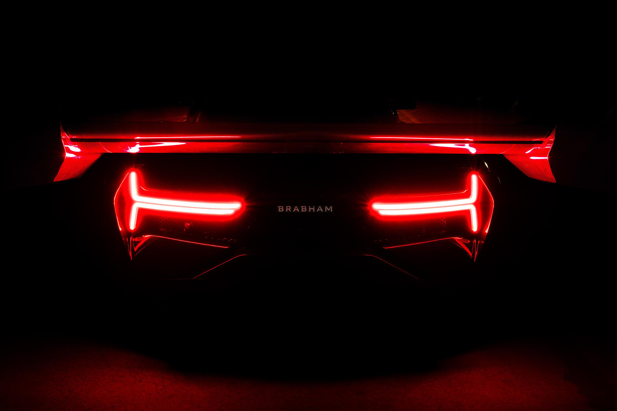 Brabham BT62 - 2018 - rear light