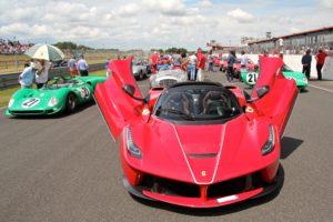LaFerrari Aperta - parade - Sport et Collection 2018 - photo Ludo Ferrari
