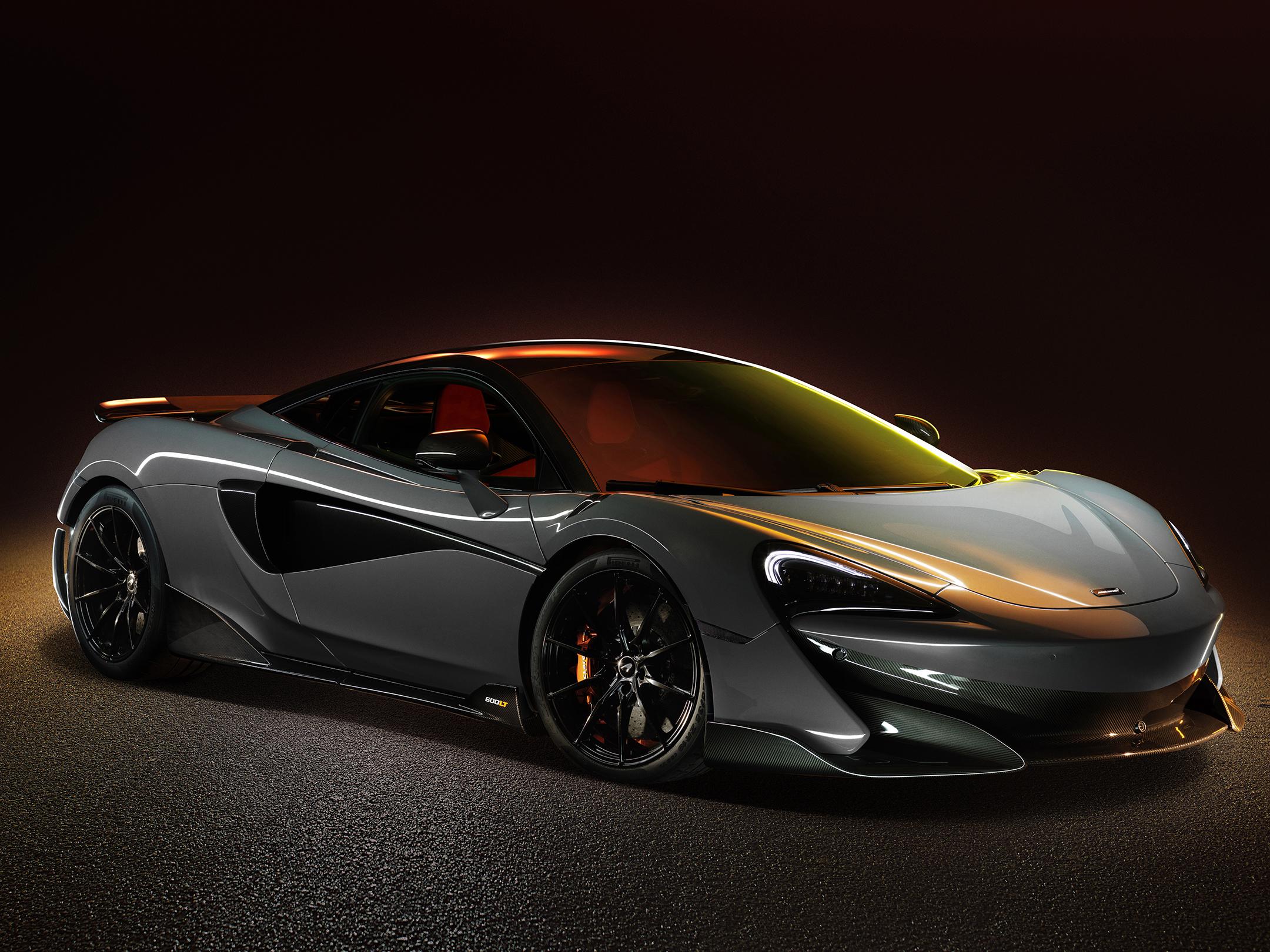 McLaren 600LT - 2018 - front side-face / profil avant