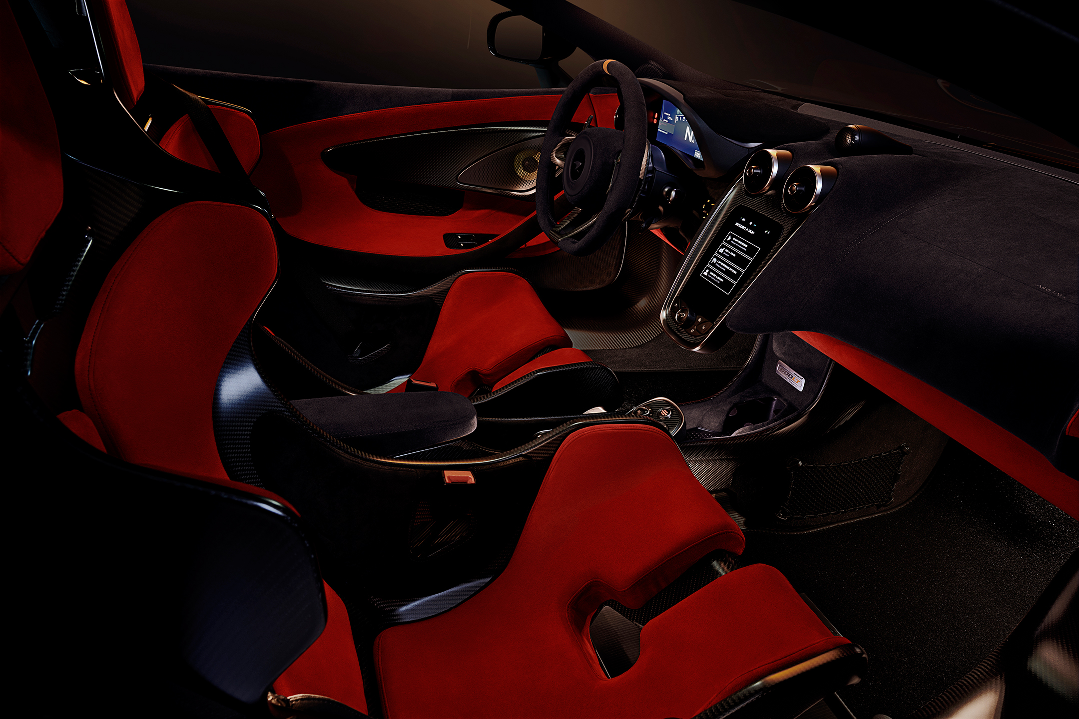 McLaren 600LT - 2018 - interior / intérieur
