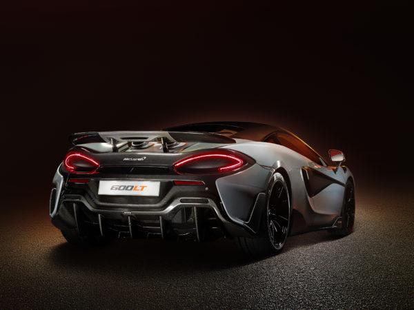 McLaren 600LT - 2018 - rear light