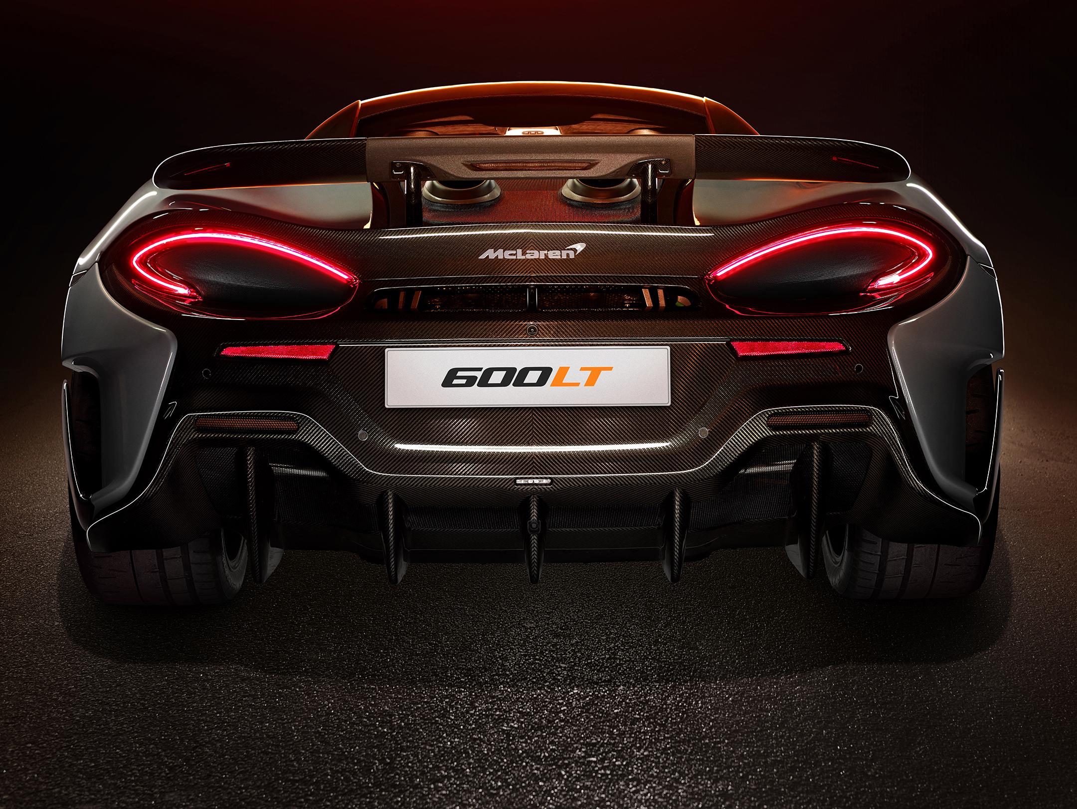 McLaren 600LT - 2018 - rear face / face arrière