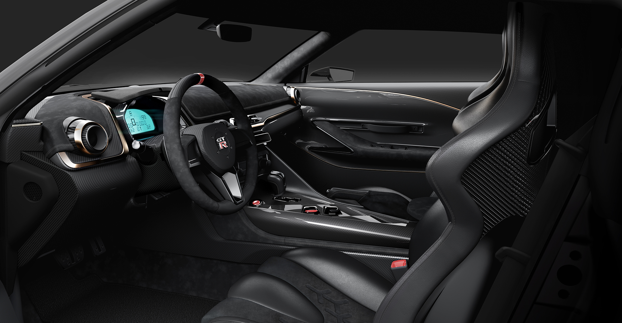 Nissan GT-R50 by Italdesign - 2018 - driving wheel / volant