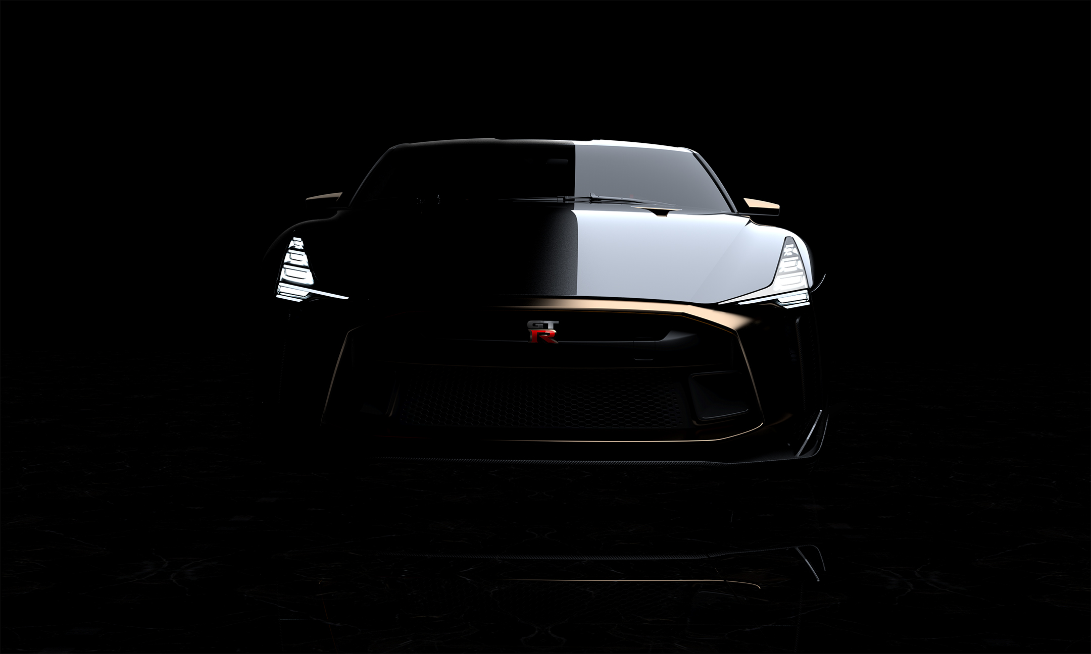 Nissan GT-R50 by Italdesign - 2018 - front face / face avant