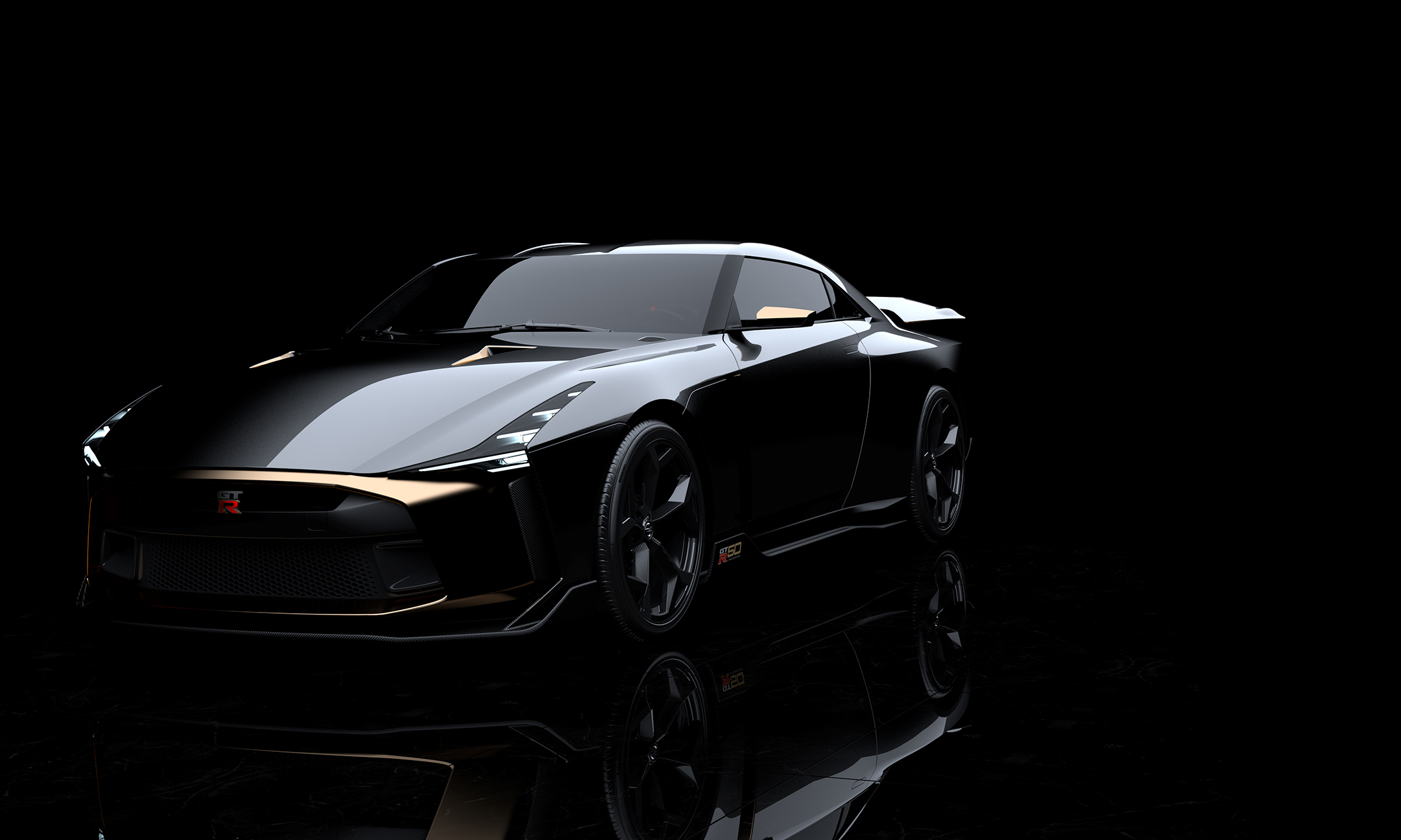 Nissan GT-R50 by Italdesign - 2018 - front side-face / profil avant