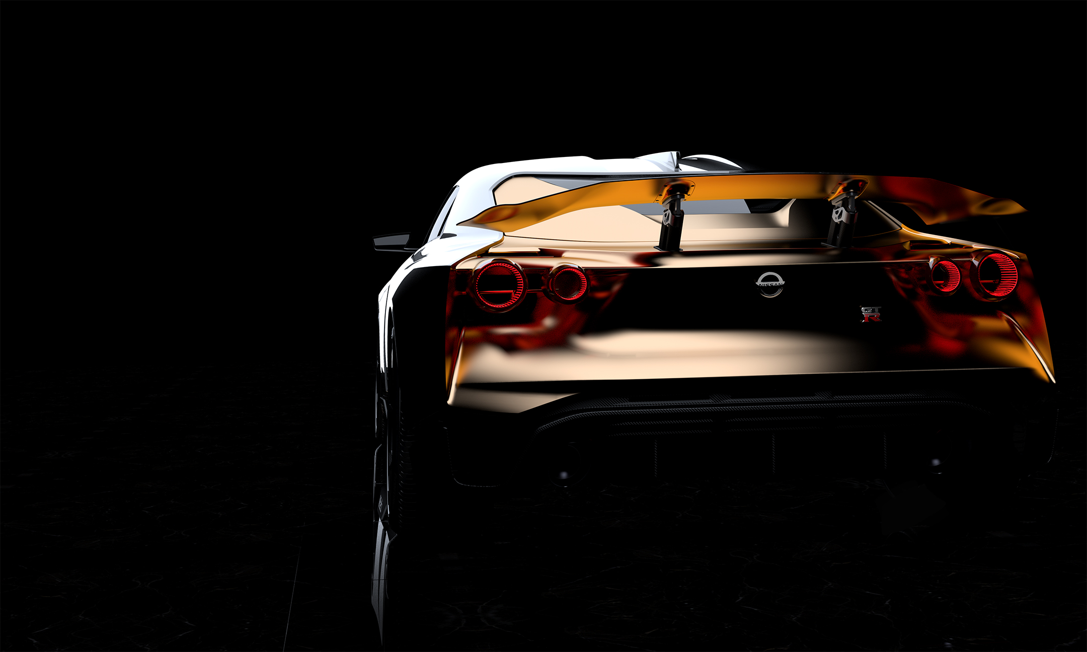 Nissan GT-R50 by Italdesign - 2018 - rear / arrière