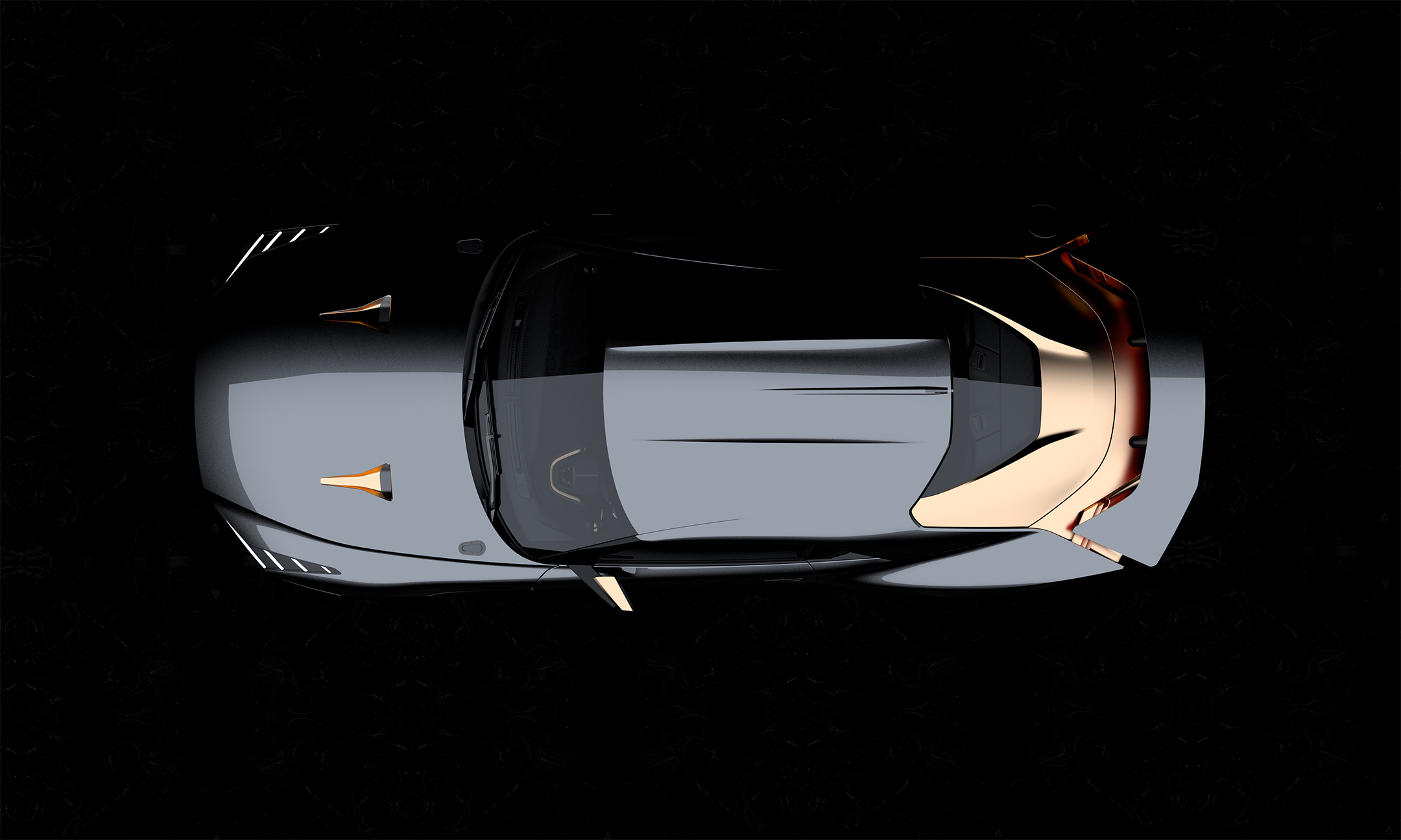 Nissan GT-R50 by Italdesign - 2018 - top view