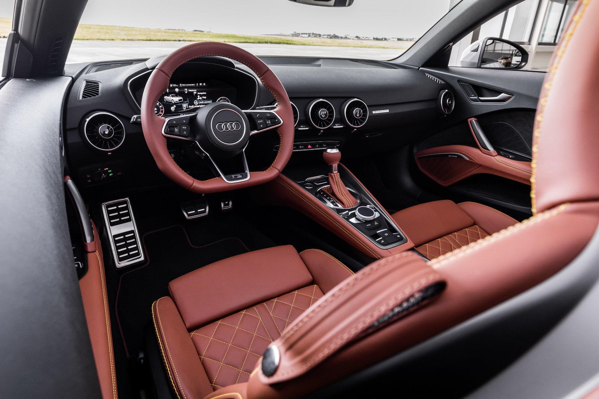 Audi TT 20 years - 2018 - interior / intérieur