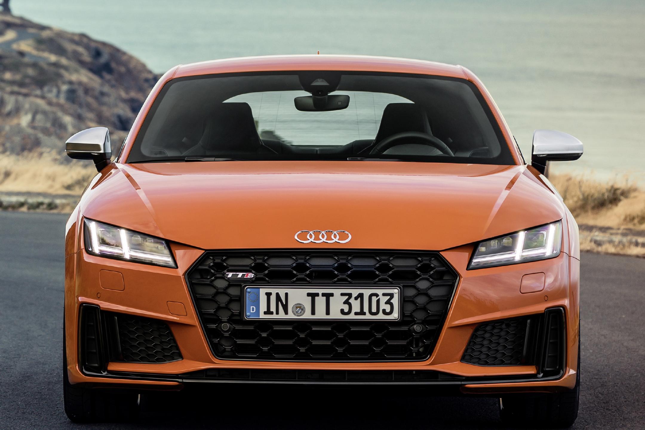 Audi TTS - 2018 - front face / face avant
