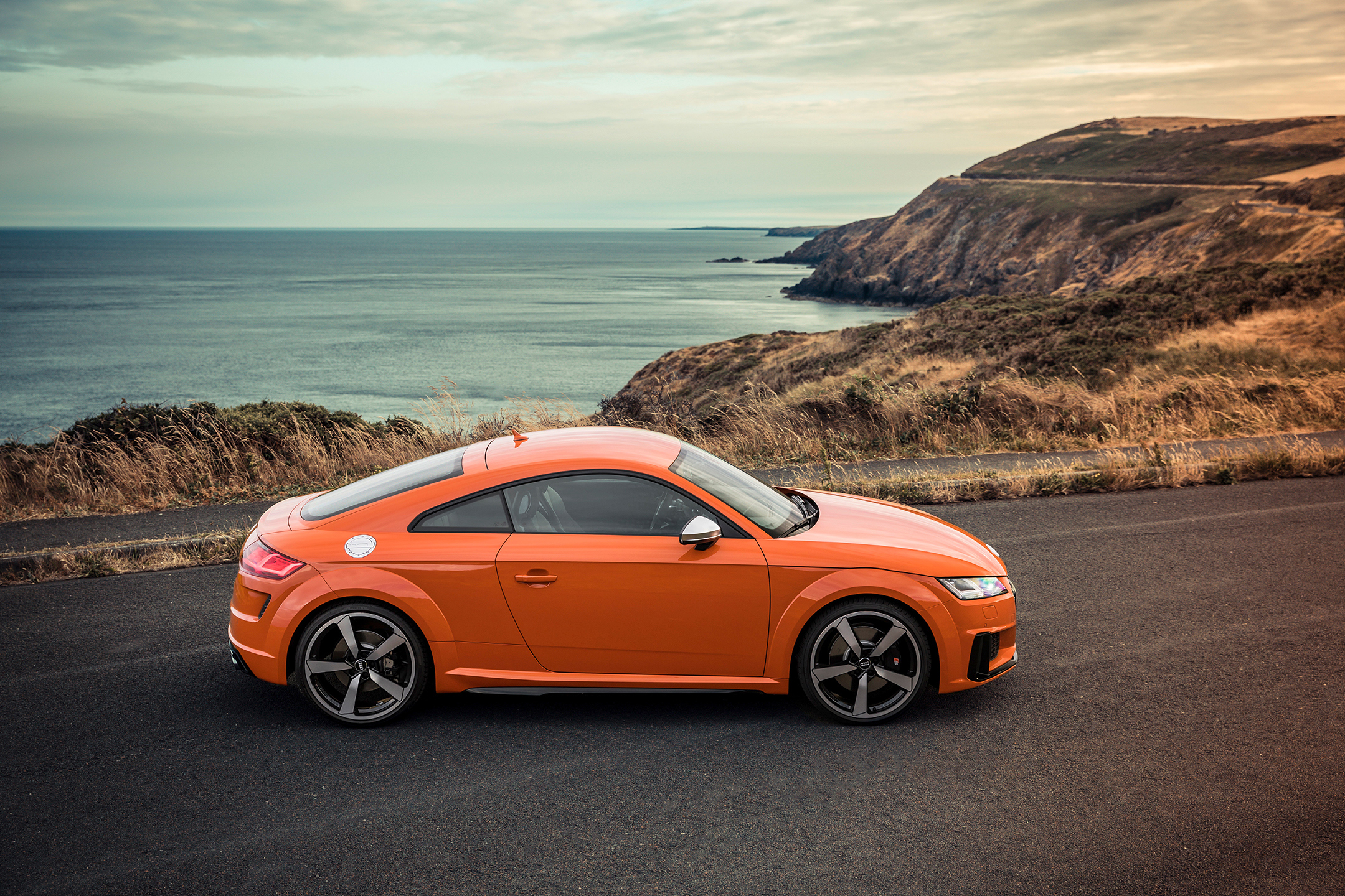 Audi TTS - 2018 - side-face / profil