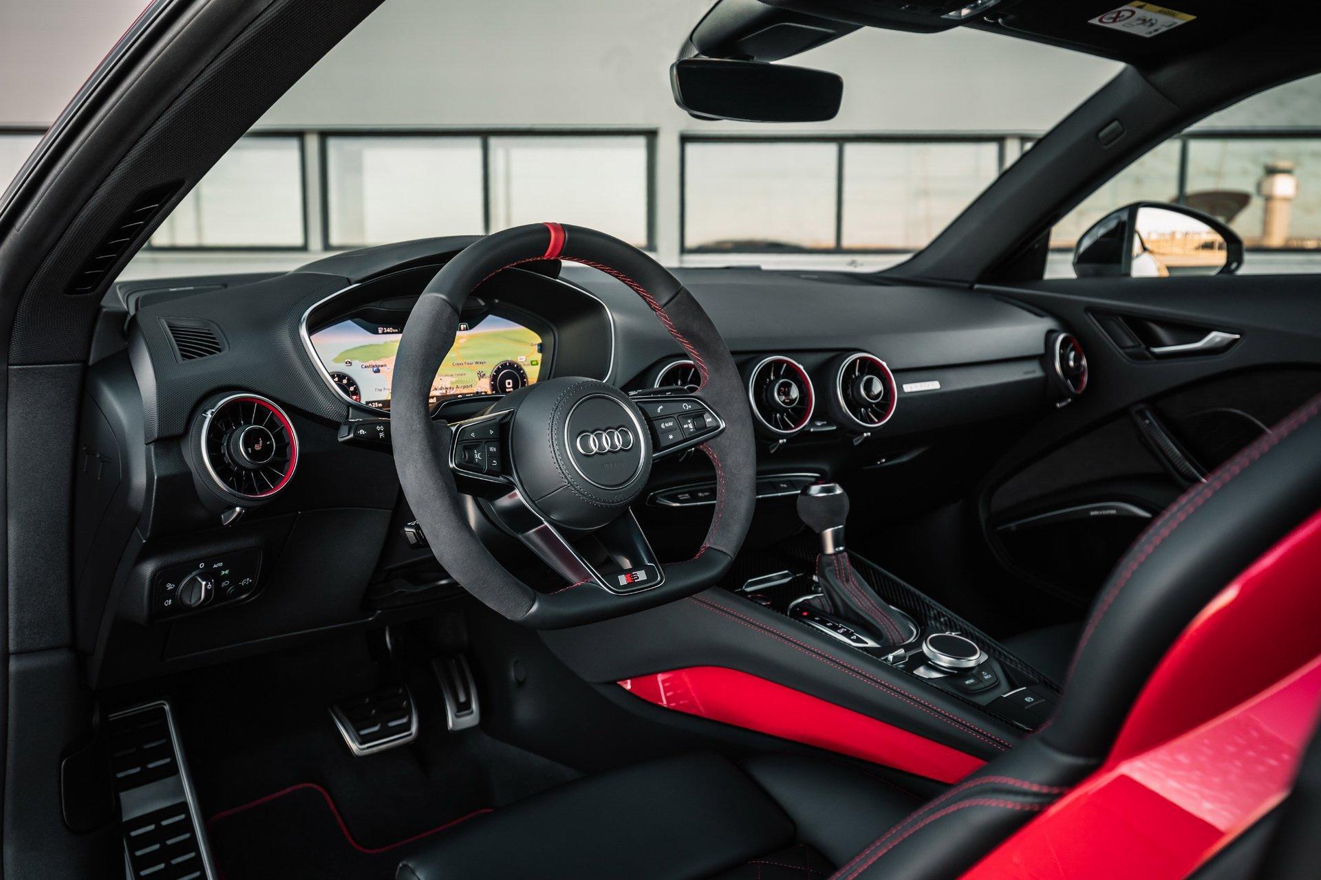 Audi TTS Competition - 2018 - interior / intérieur