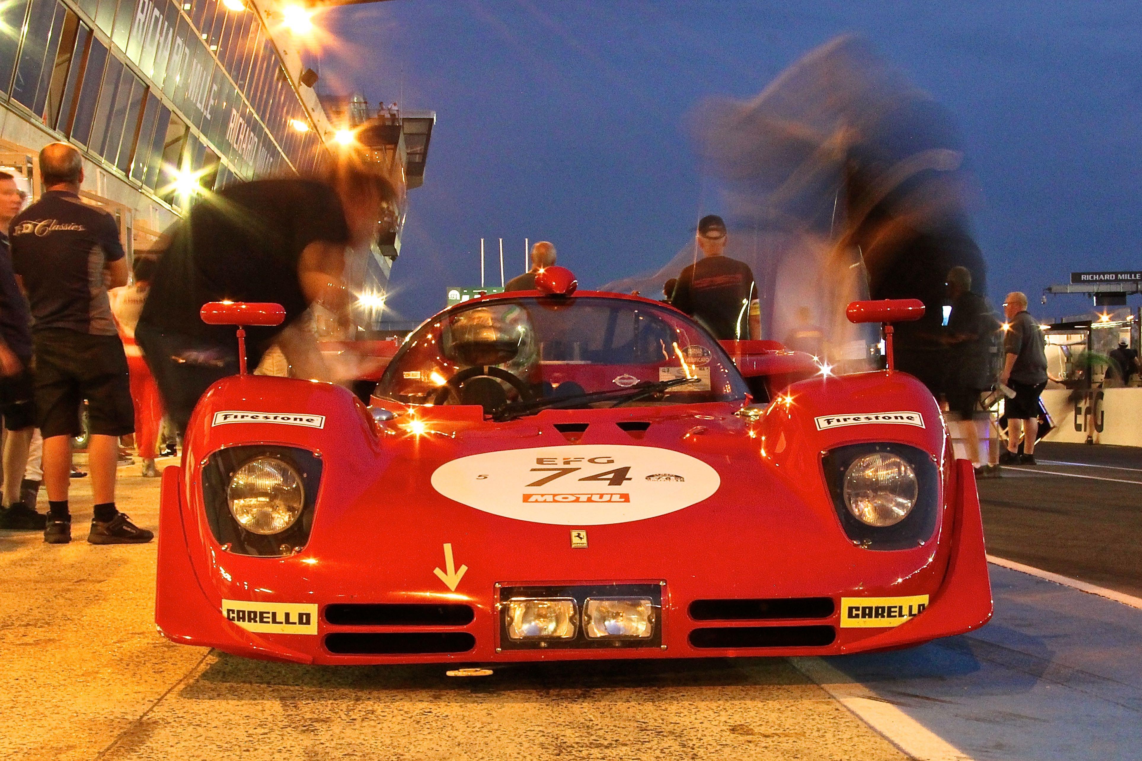 Ferrari 512 S - 1970 - Le Mans Classic 2018 - photo Ludo Ferrari