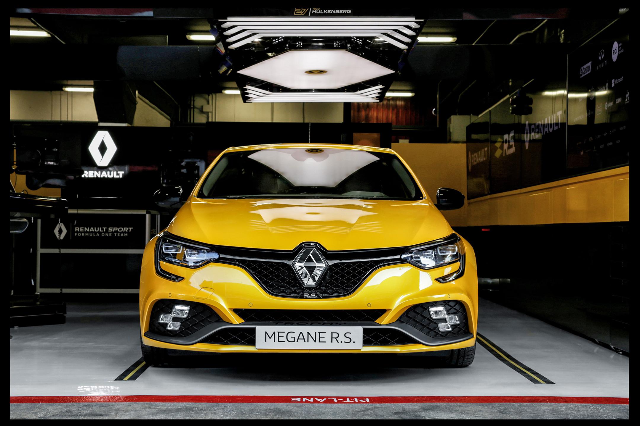 Renault Megane R.S. Trophy - 2018 - front face / face avant