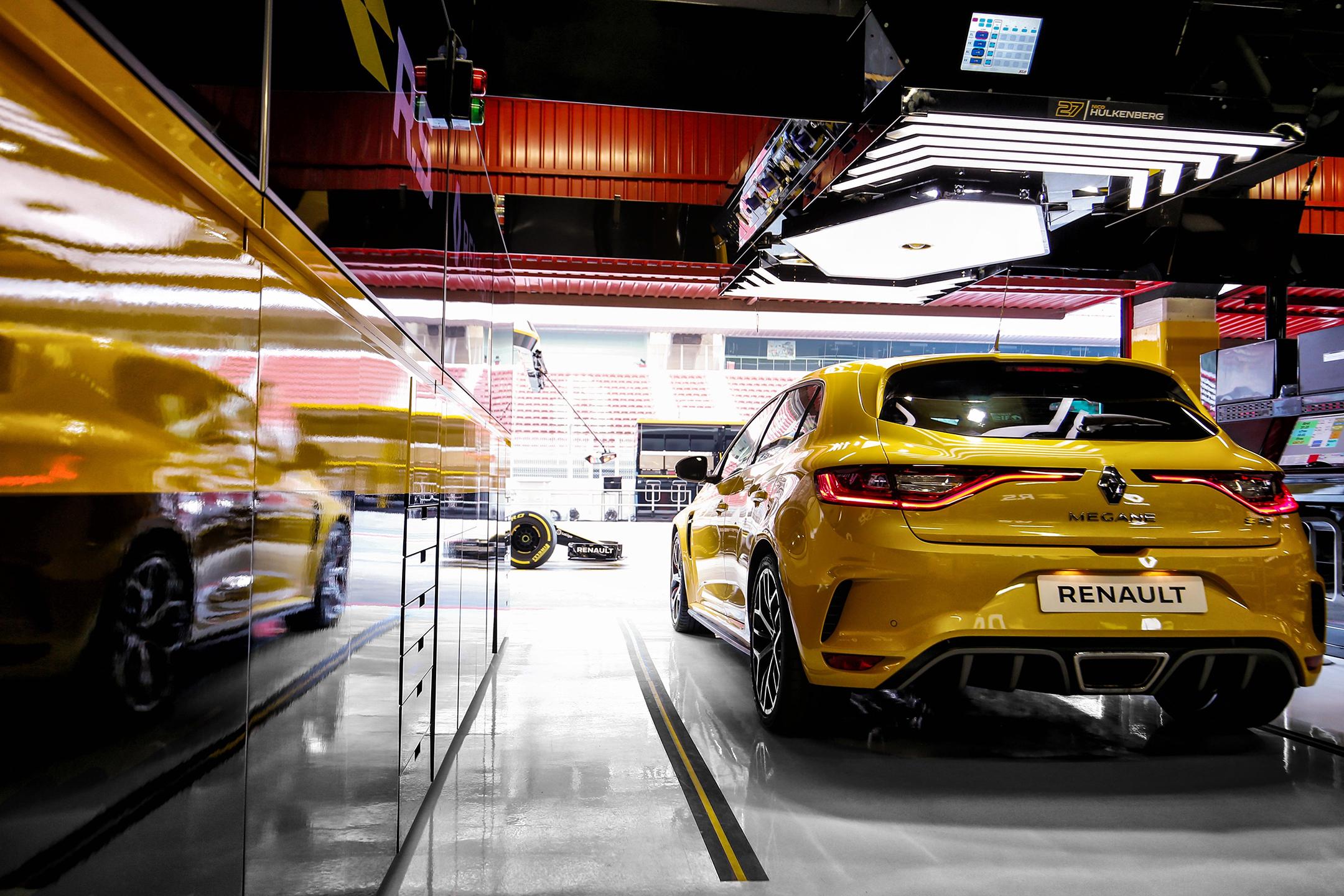 Renault Megane R.S. Trophy - 2018 - rear face / face arrière