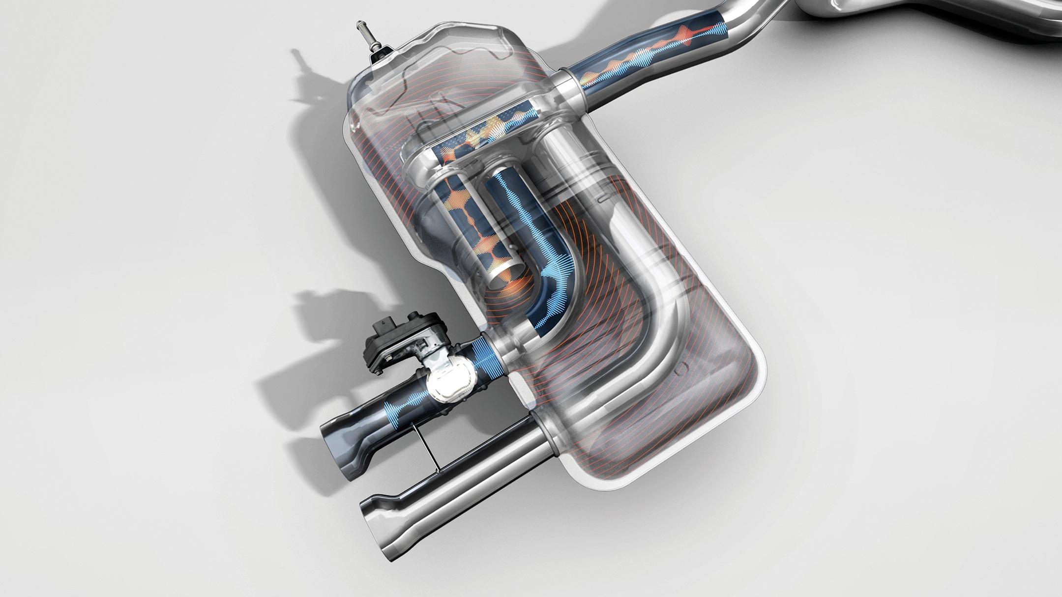 Renault Megane R.S. Trophy - 2018 - dual valve exhaust system / échappement à clapet